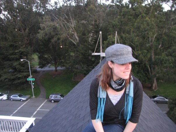Erin on the Rooftops