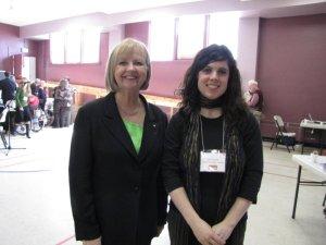 Erin and Joy Smith