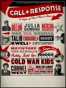 Call-response-poster red