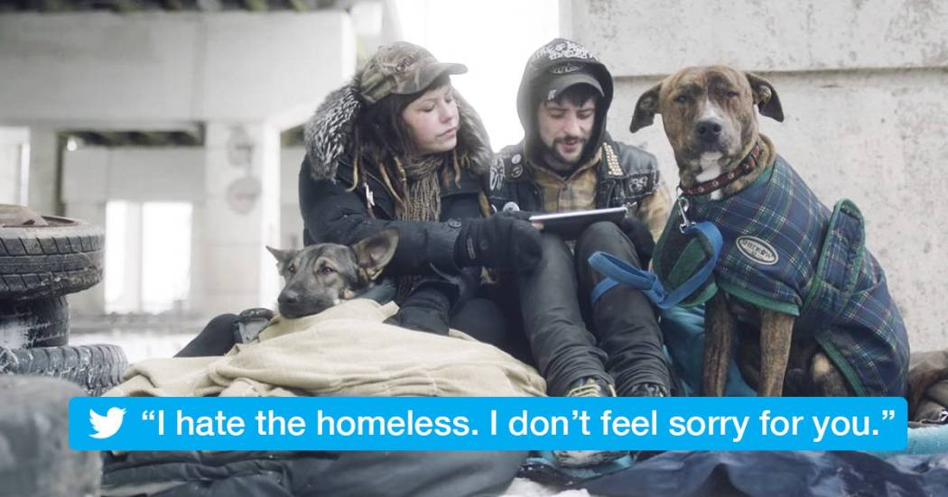the homeless read mean tweets 1