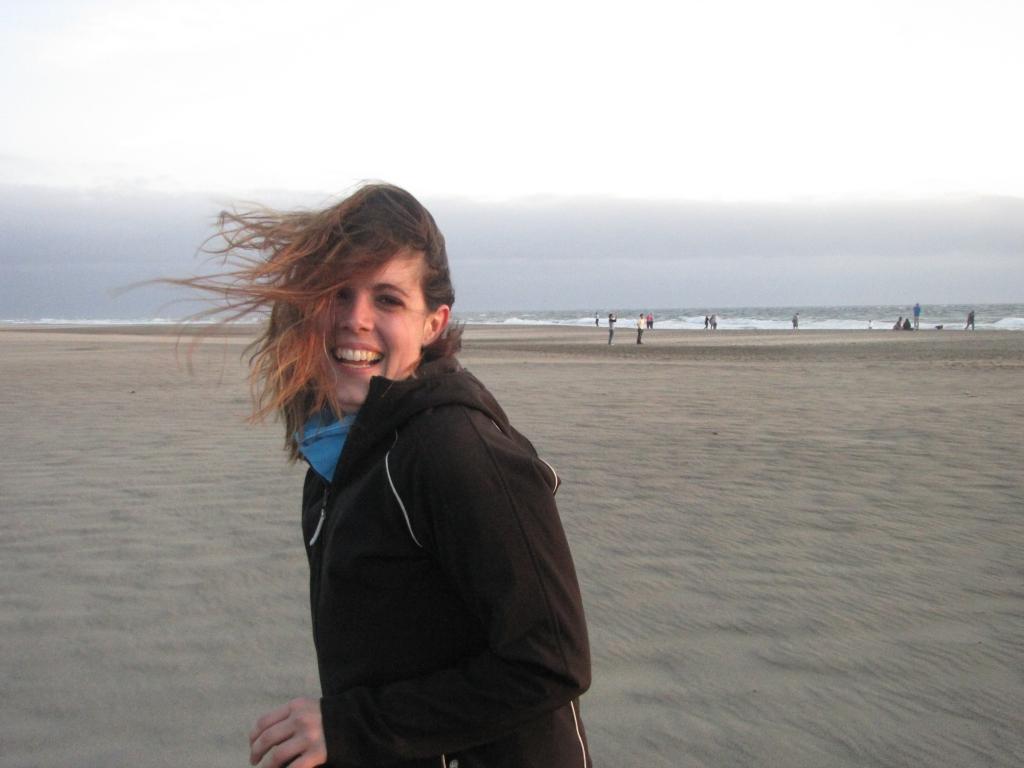 Ocean Beach, San Fransisco during our