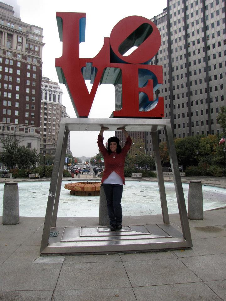 Holding up Love in Philly :)