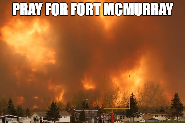 pray for fort mac